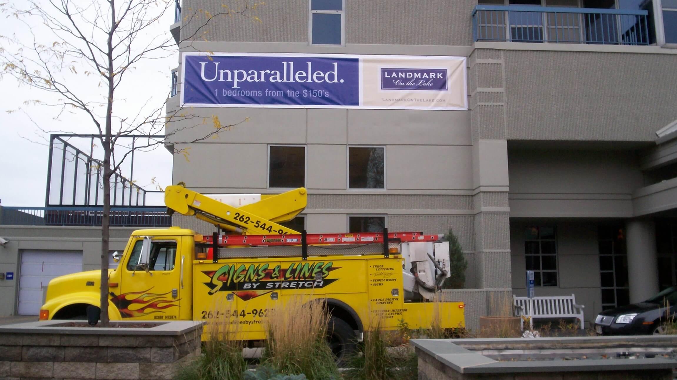 Banner installation Southeastern Wisconsin