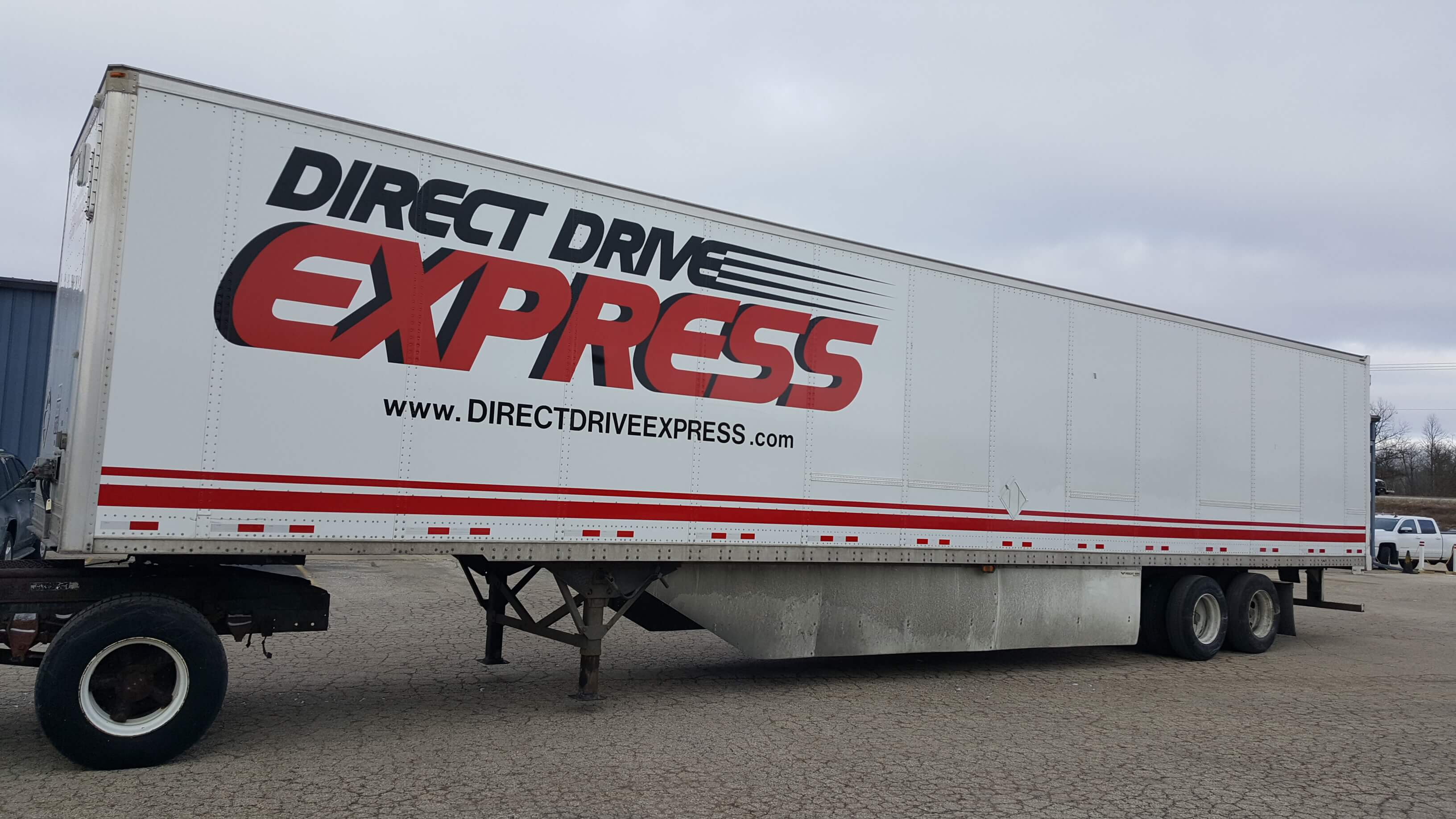 Direct drive express large vinyl wrap