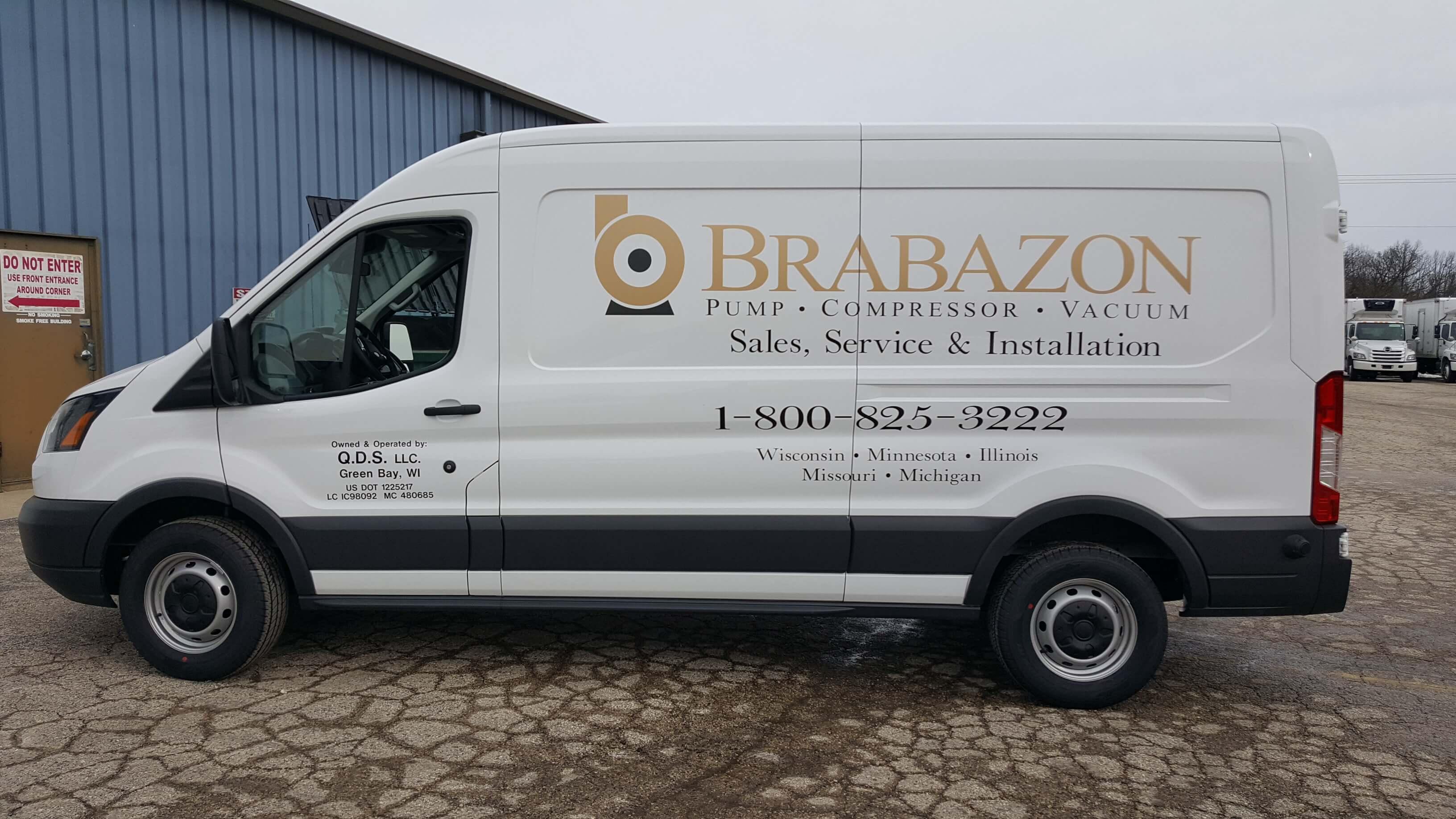 Van decals for southeastern Wisconsin