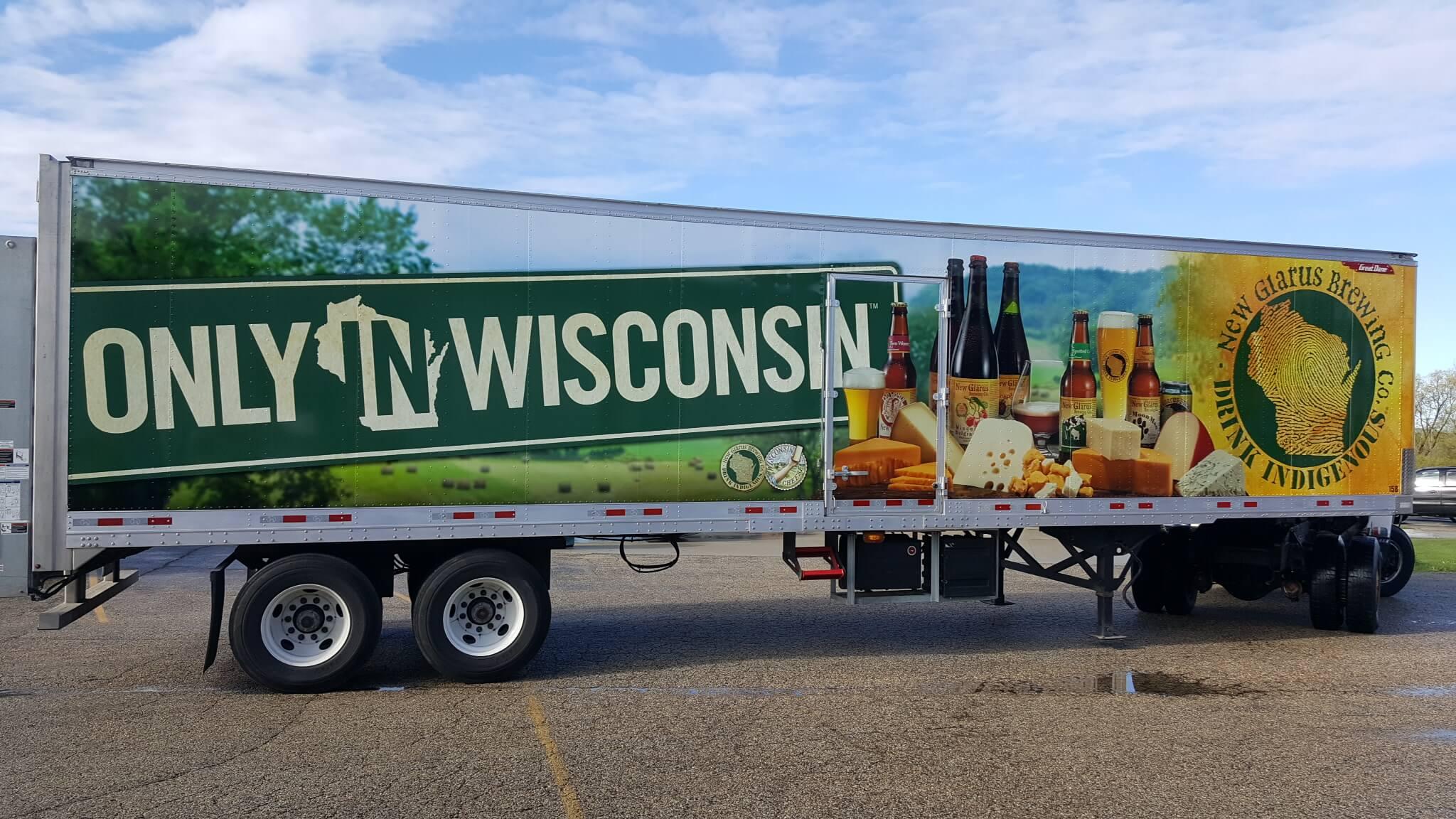 Spotted Cow New Glarus Wisconsin Fleet Graphics