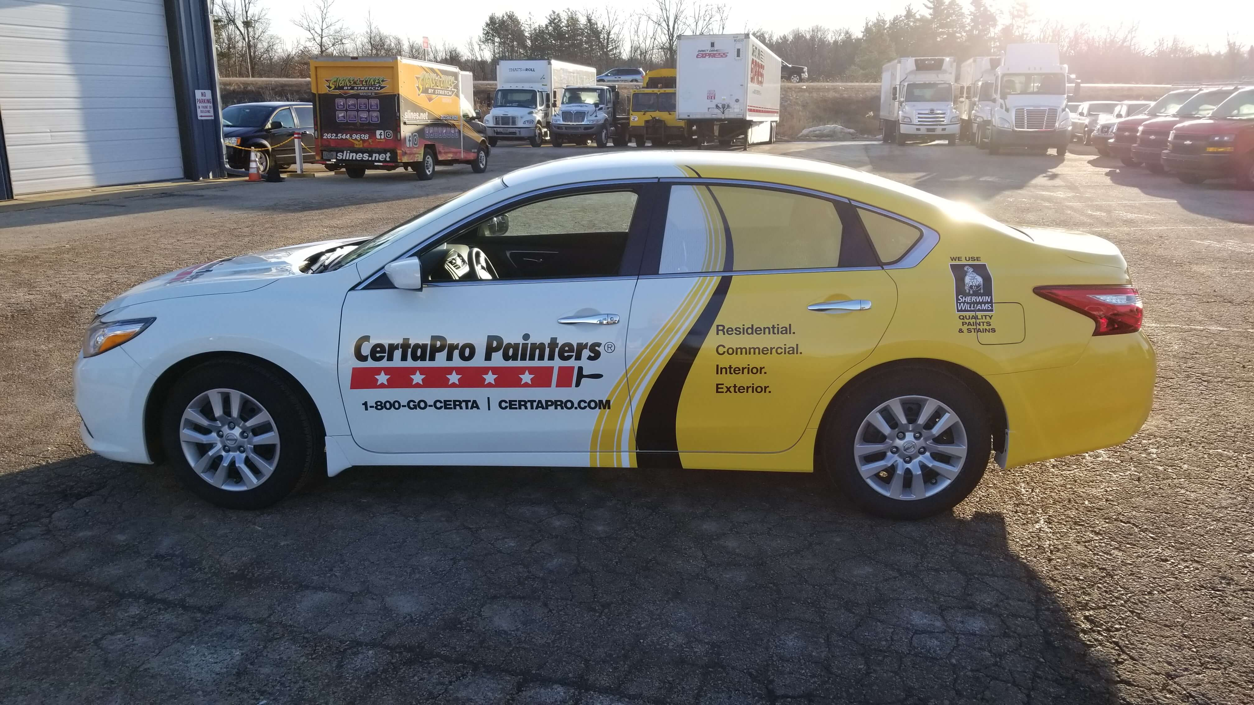 Certapro Painters Wisconsin Vehicle Wraps