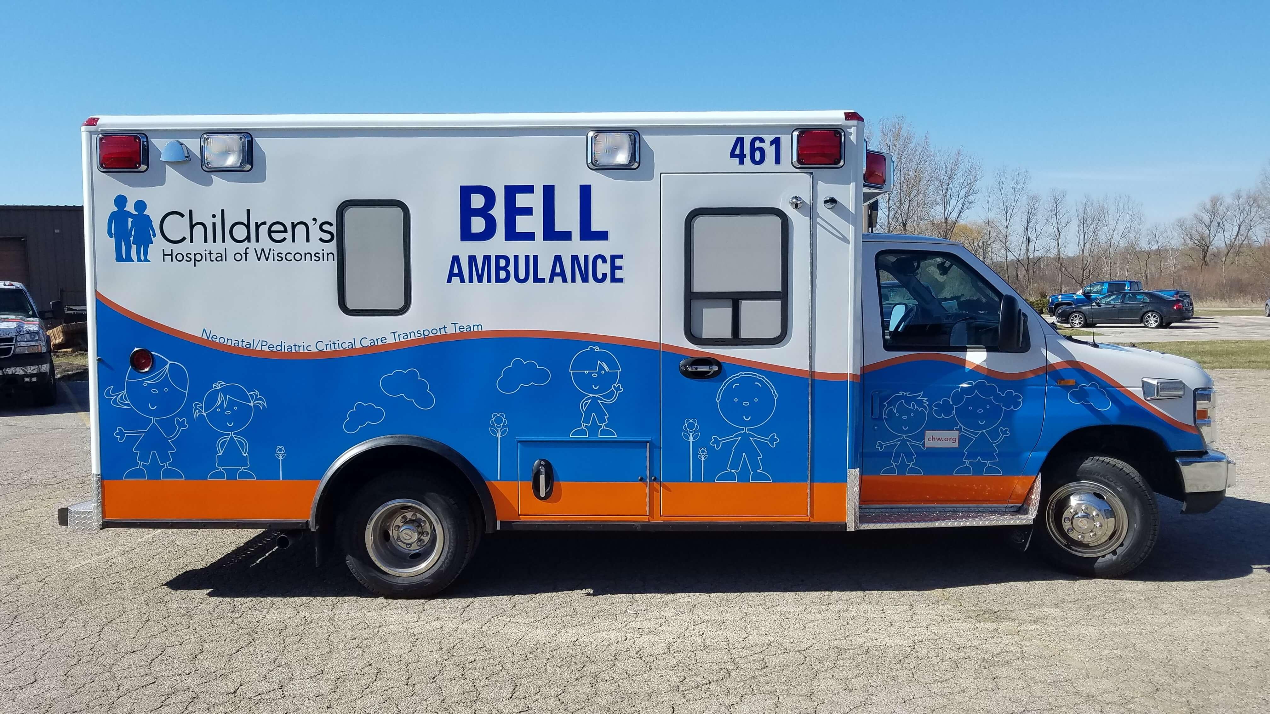 Children's Hospital of Wisconsin fleet Graphics