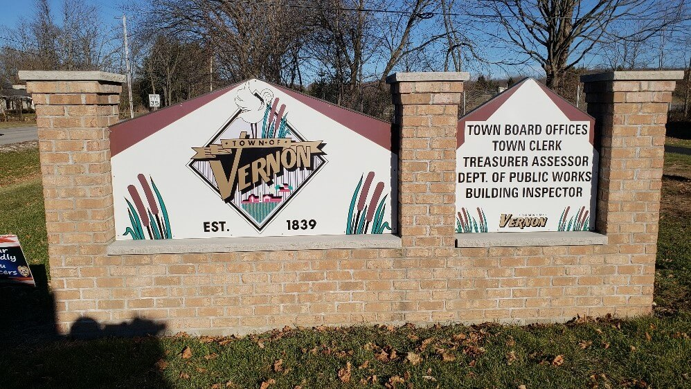 Town of Vernon Outdoor Monument Sign