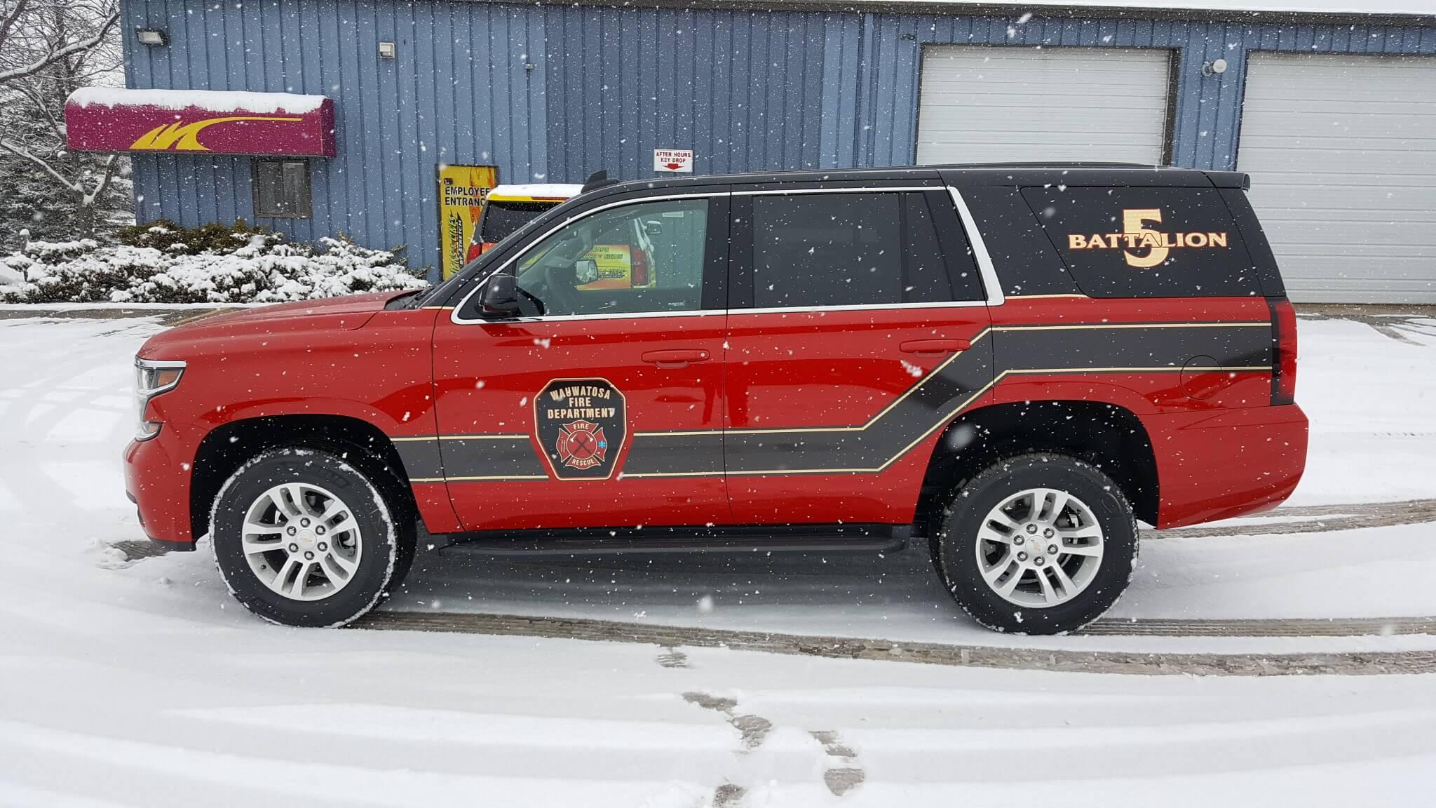 Wauwatosa Fire department decals