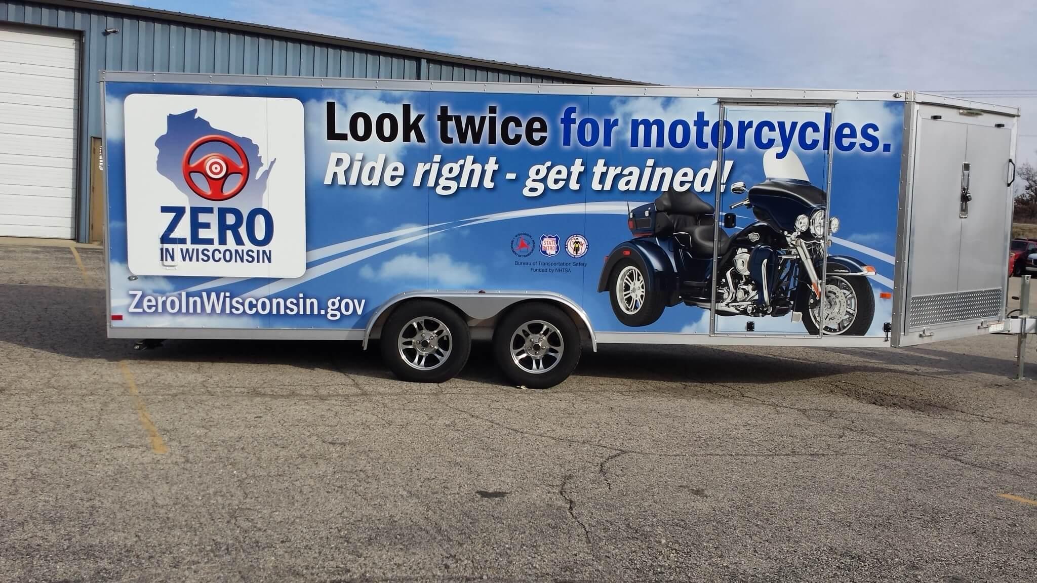 USDOT Motorcycle trailer