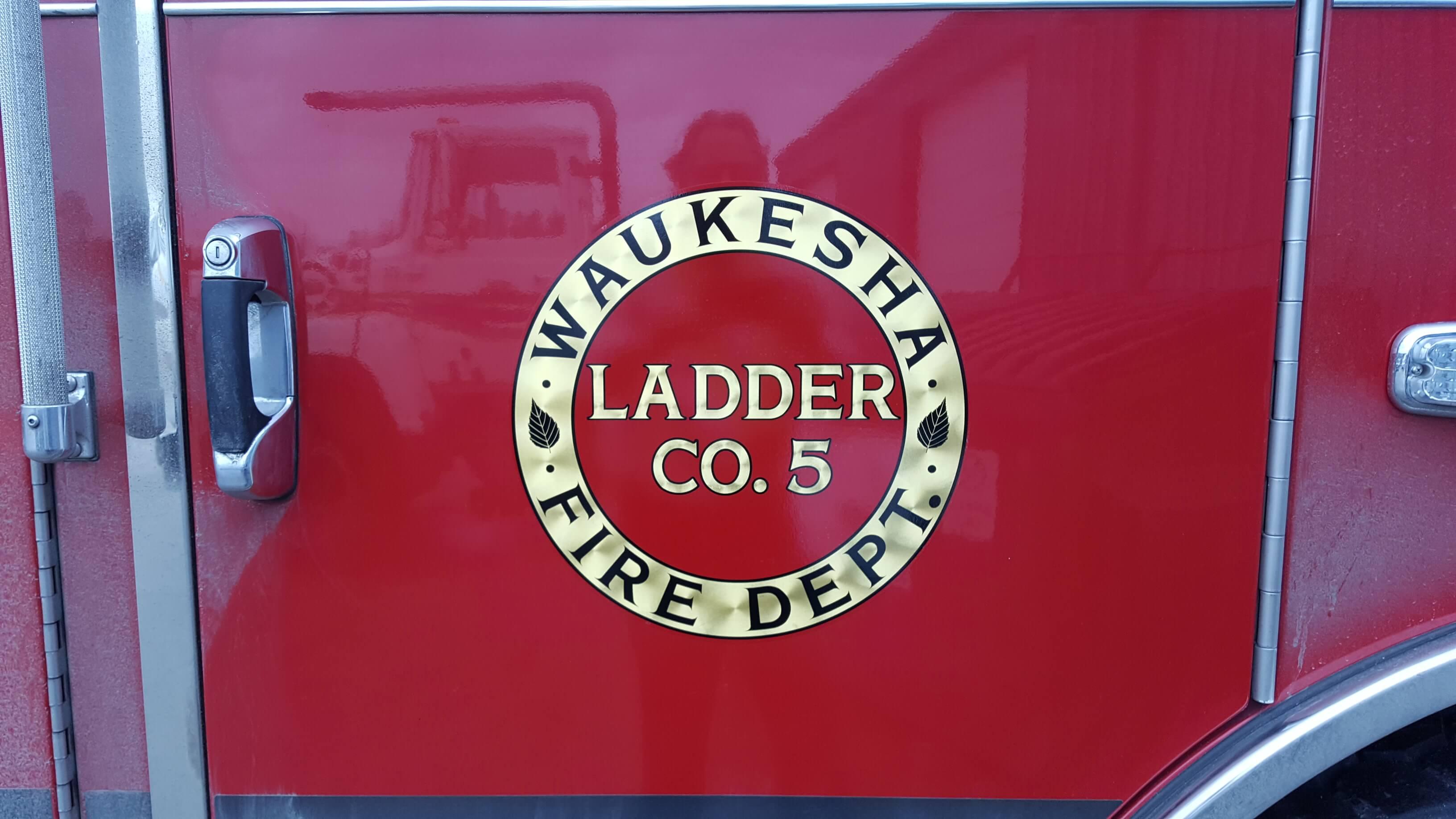 Milwaukee fire department decals