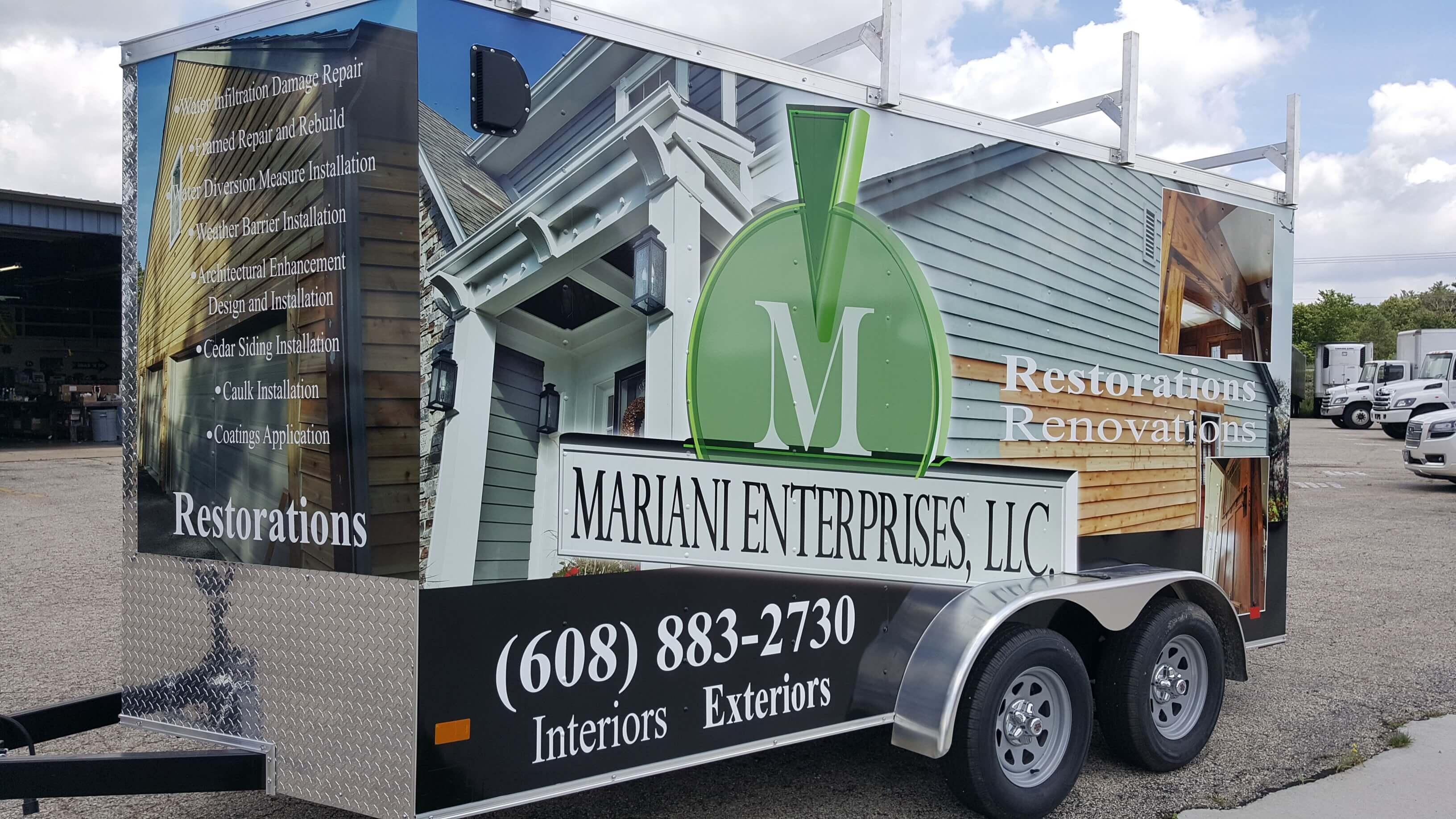 Enterprise Mariani Trailer Full Wrap