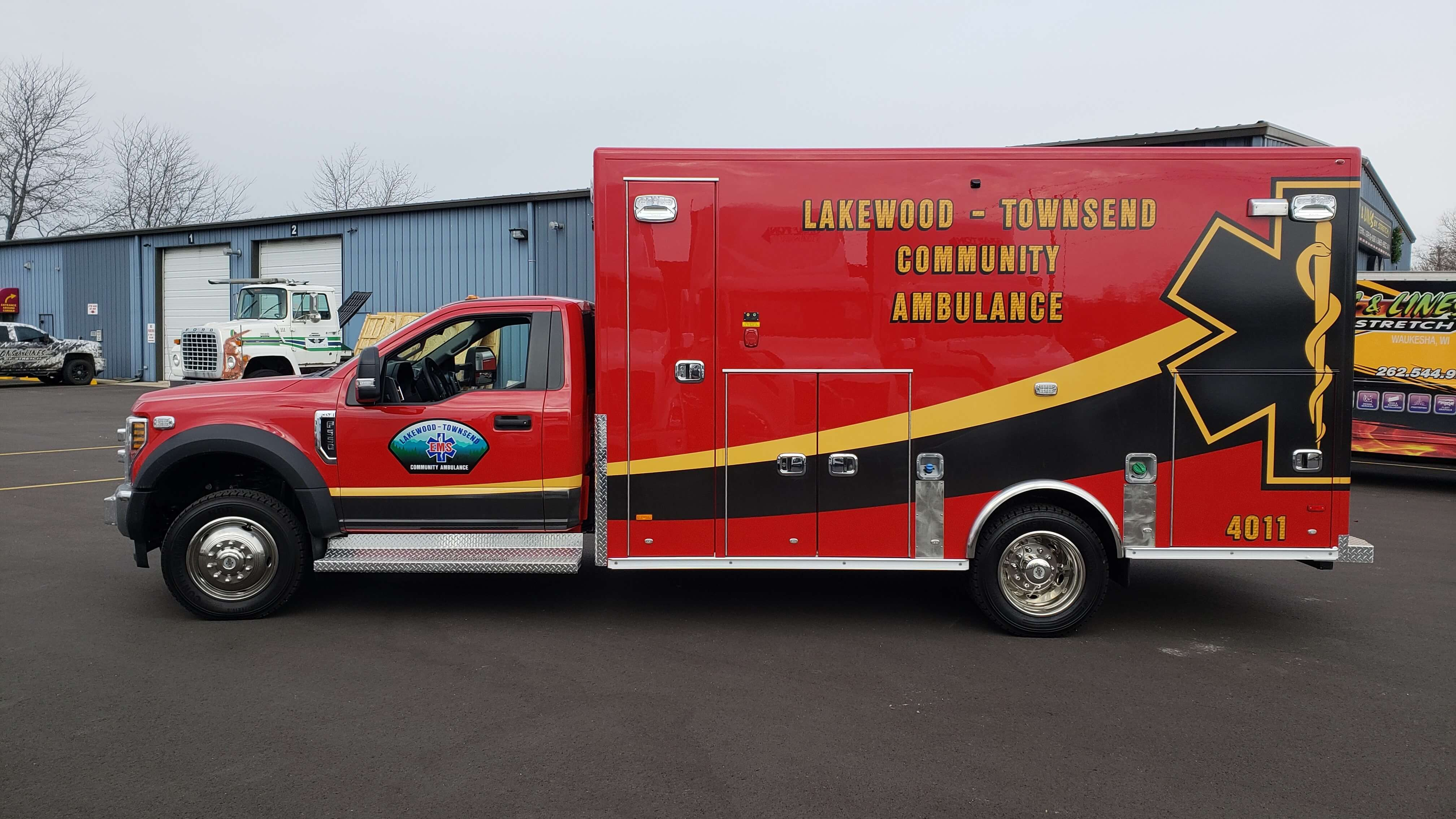 Fire department graphics for Lakewood FD