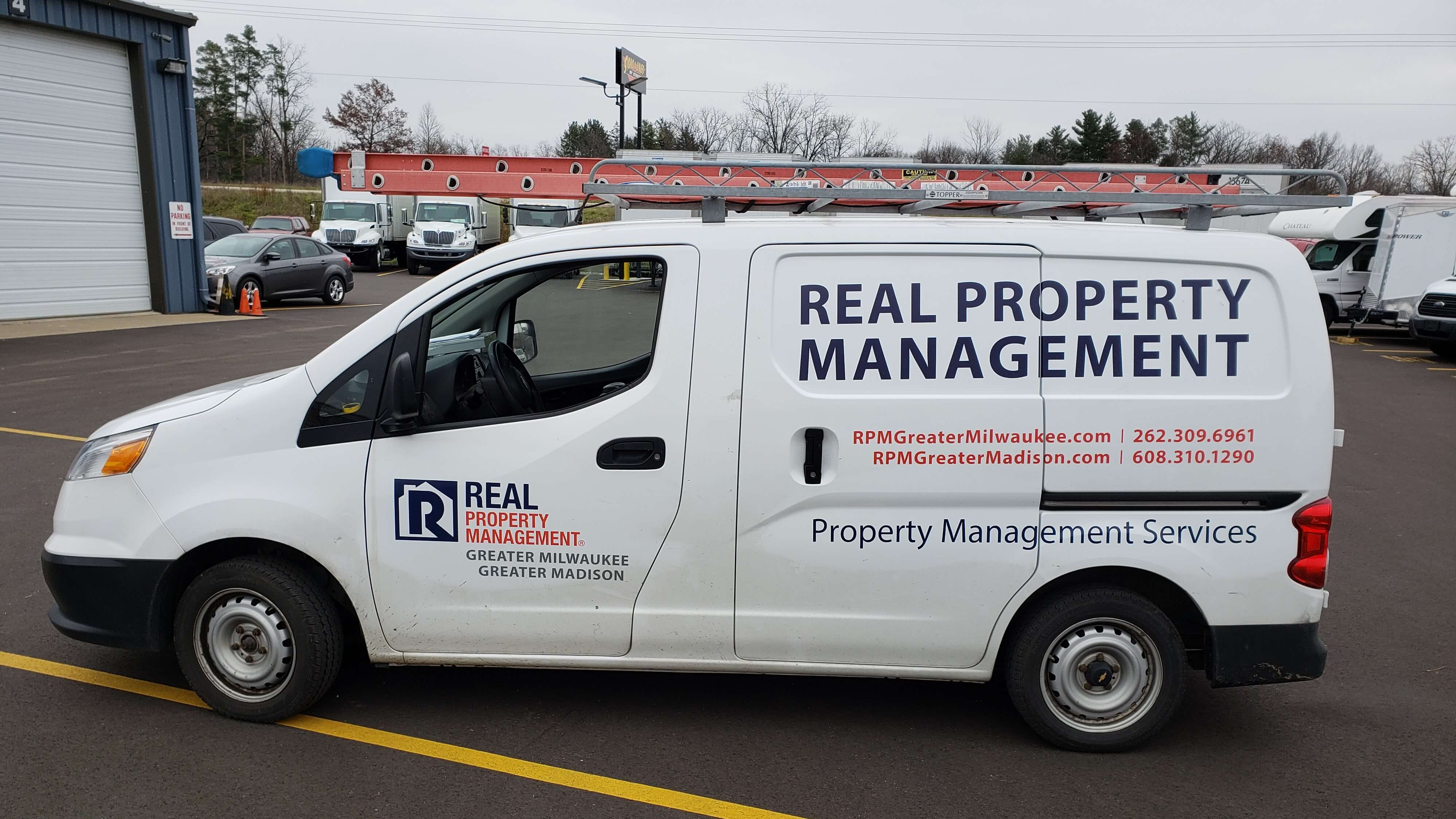 Spot graphics for real property