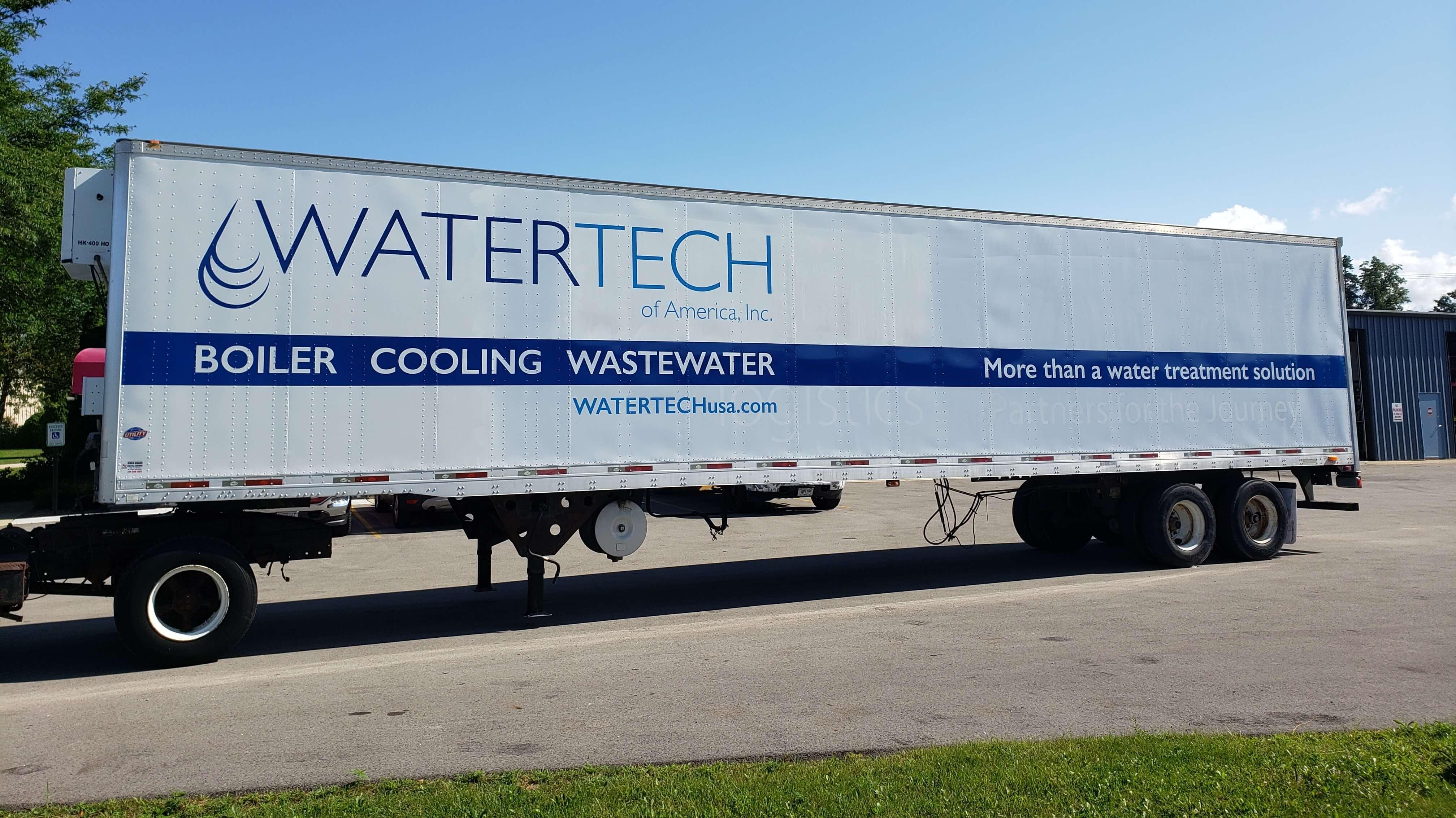 Watertech fleet side graphics
