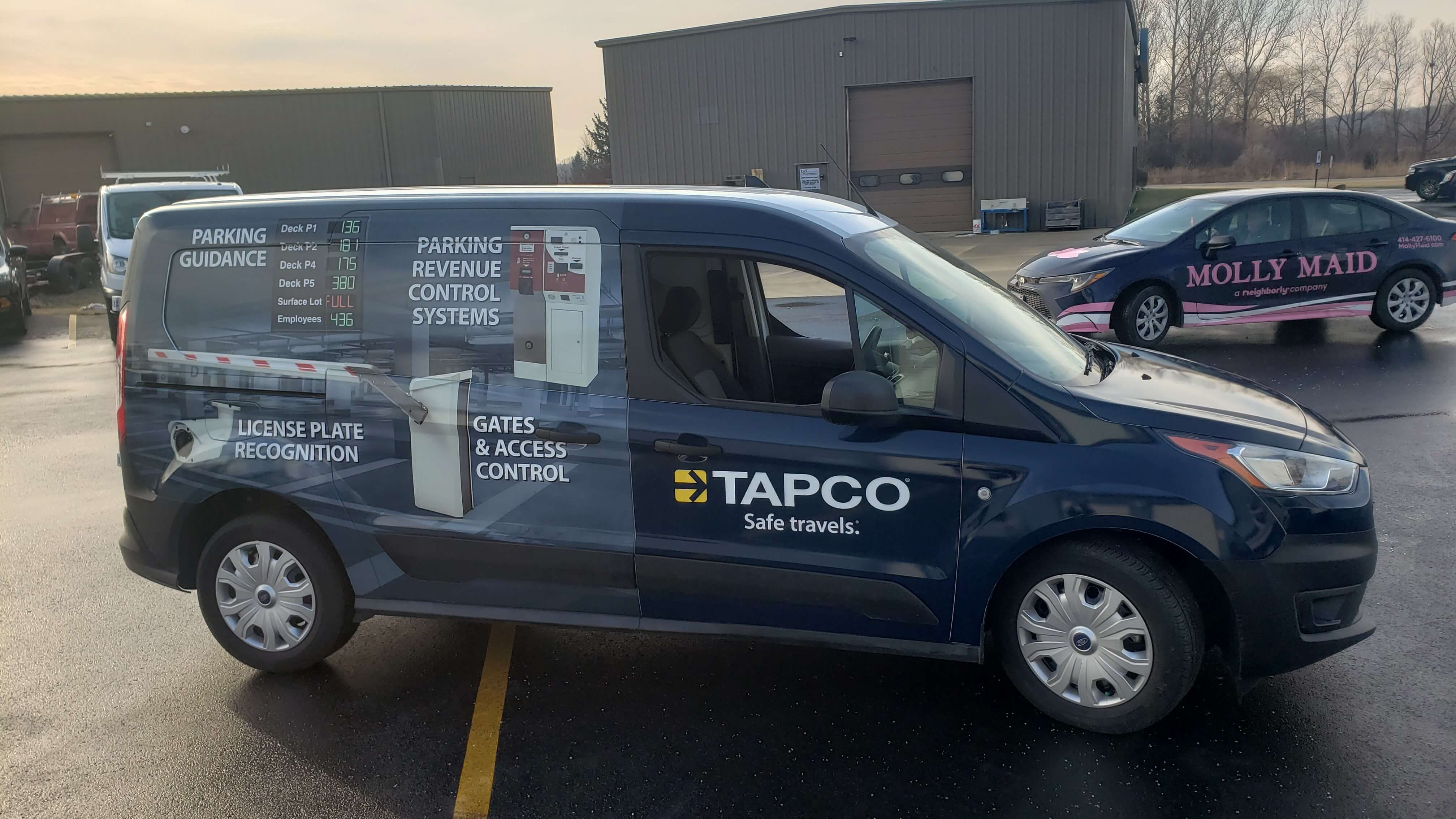 Tapco Fleet Partial Wrap by Signs and Lines