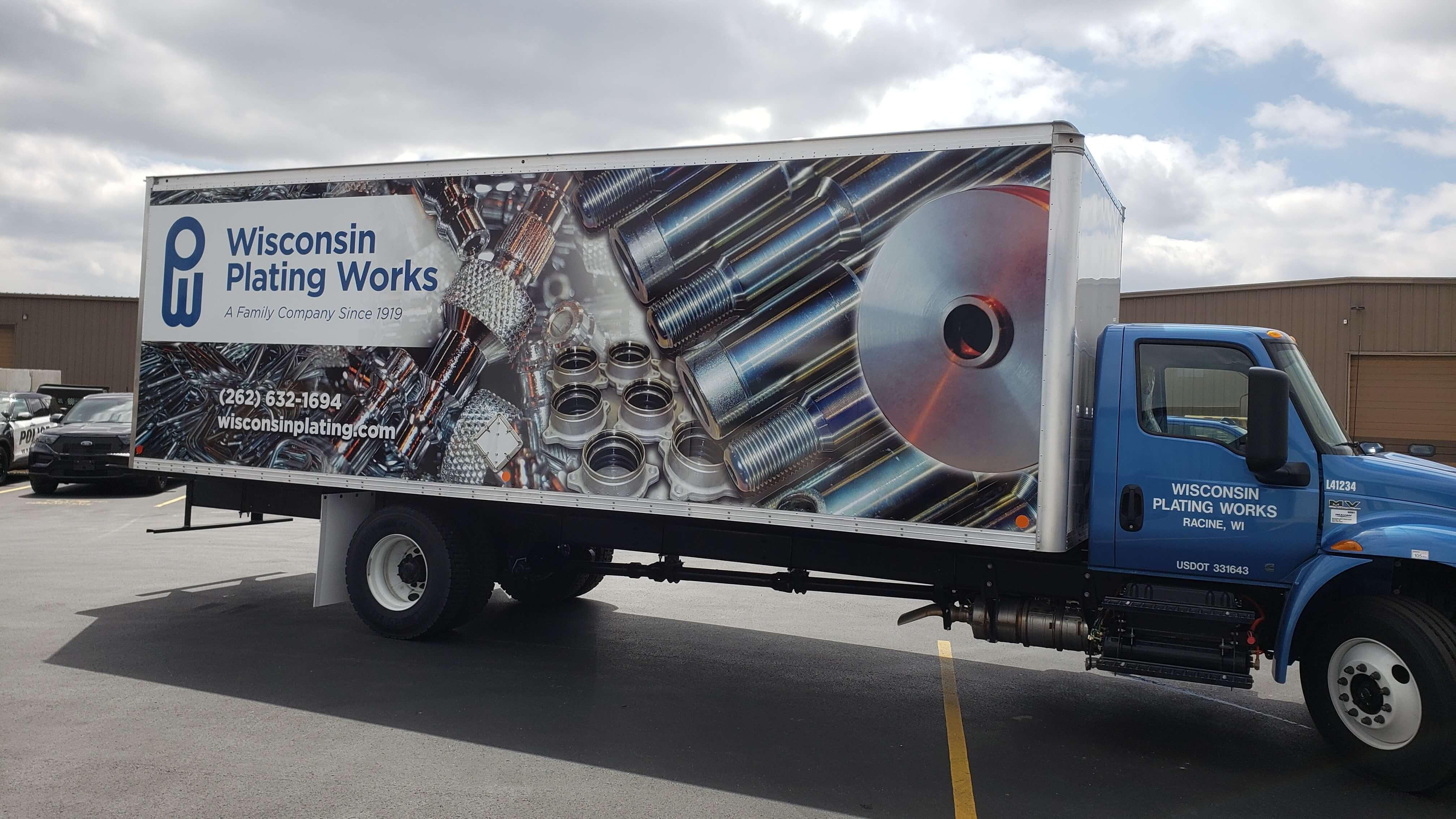 Wisconsin plating full vehicle wrap