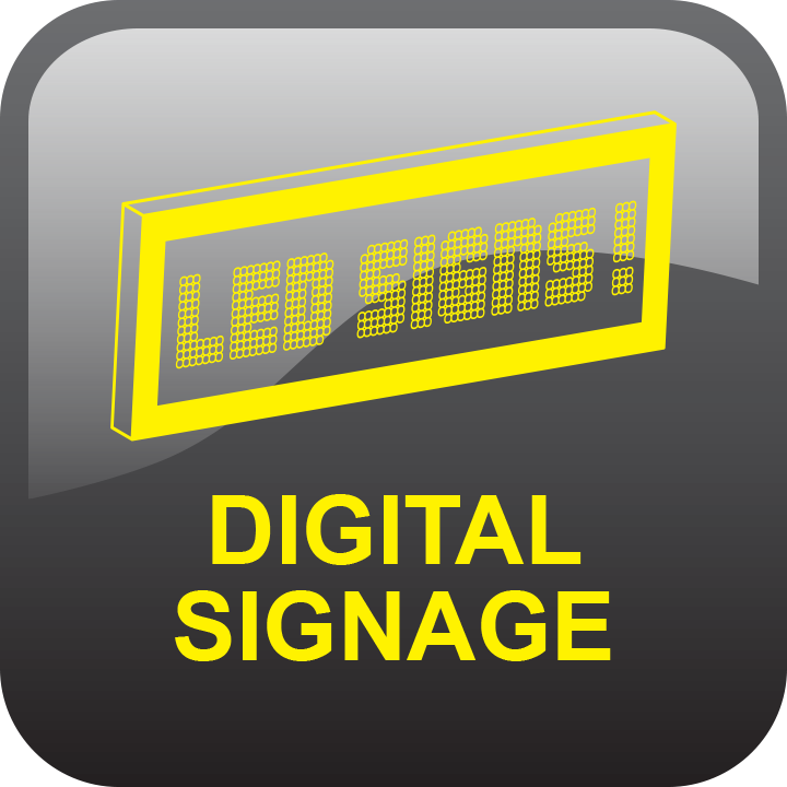 Digital Signage by signs and lines by stretch