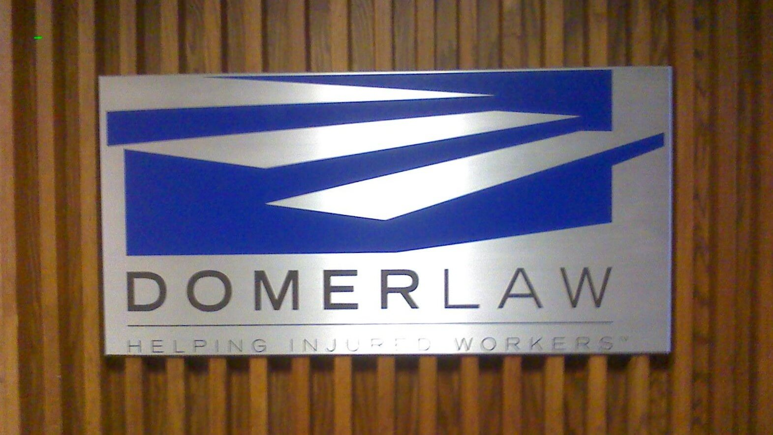 Outdoor custom Law office sign made out of foam for Magner, Hueneke, Smith & Borda