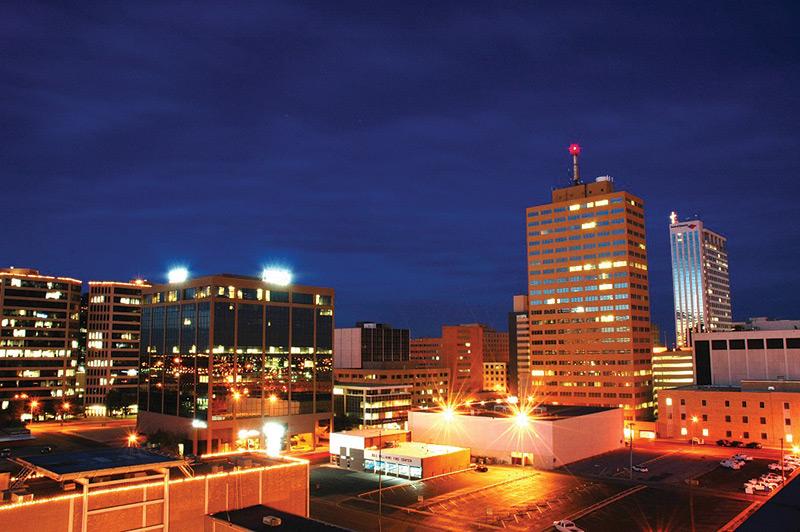 Odessa, Texas city skyline
