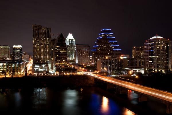 Austin, Texas city skyline
