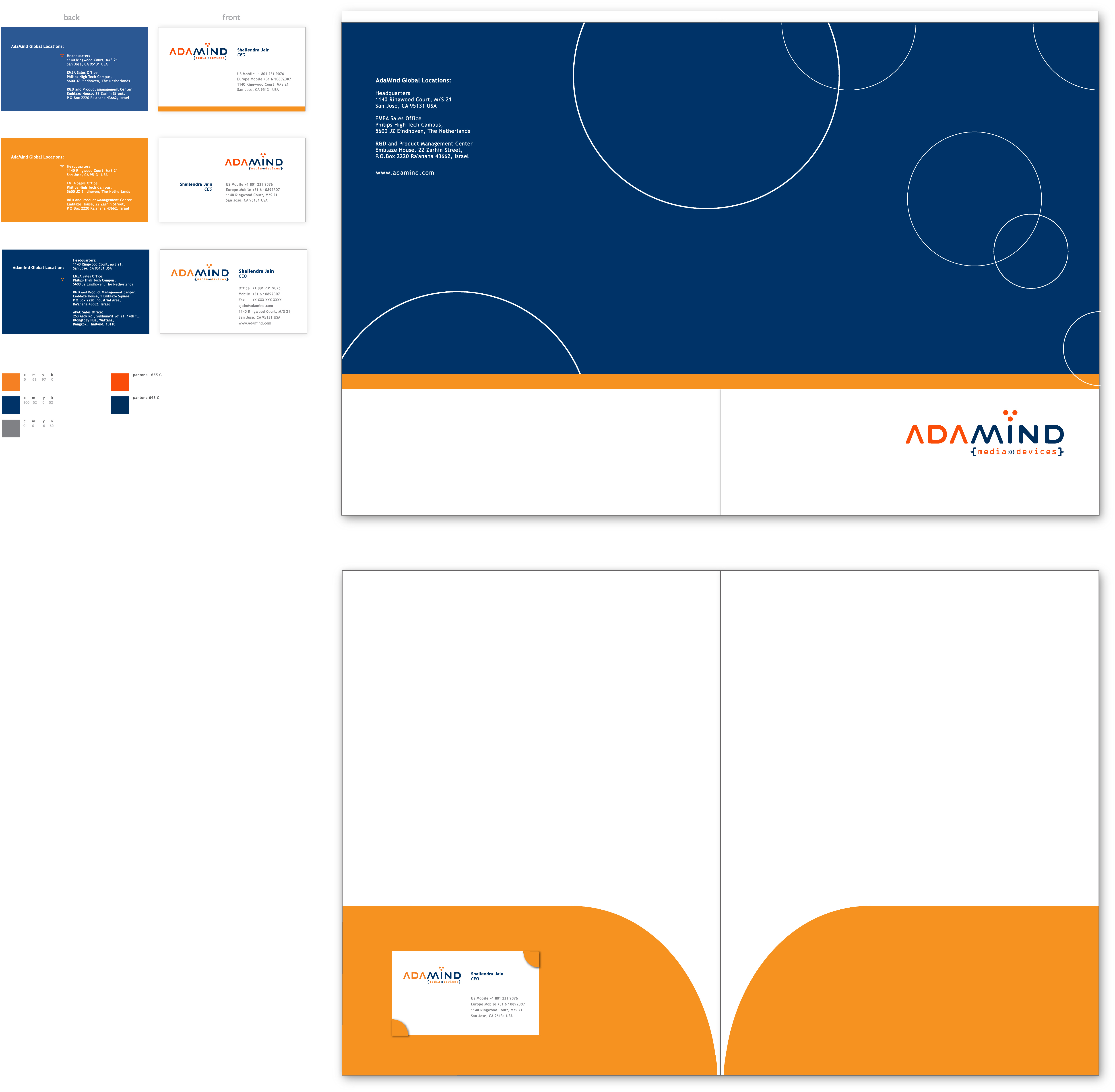 adamind stationary collateral