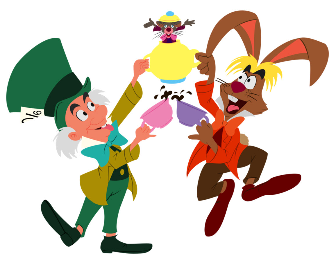 mad hatter and march hare