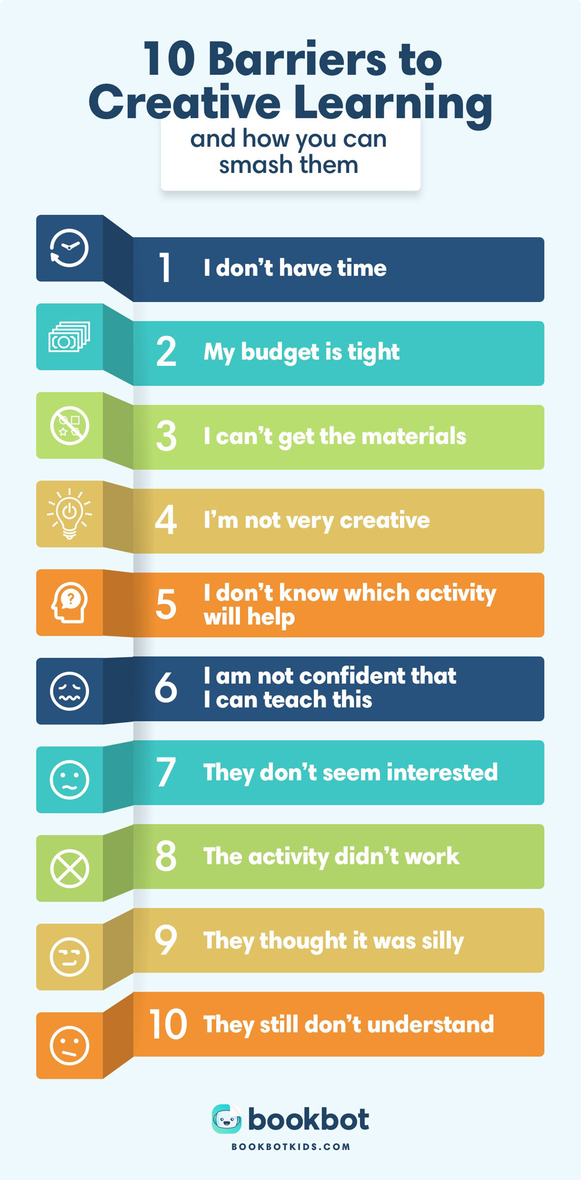 barriers for creative learning