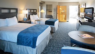 Accessible Room with 2 Queen Beds and Partial View