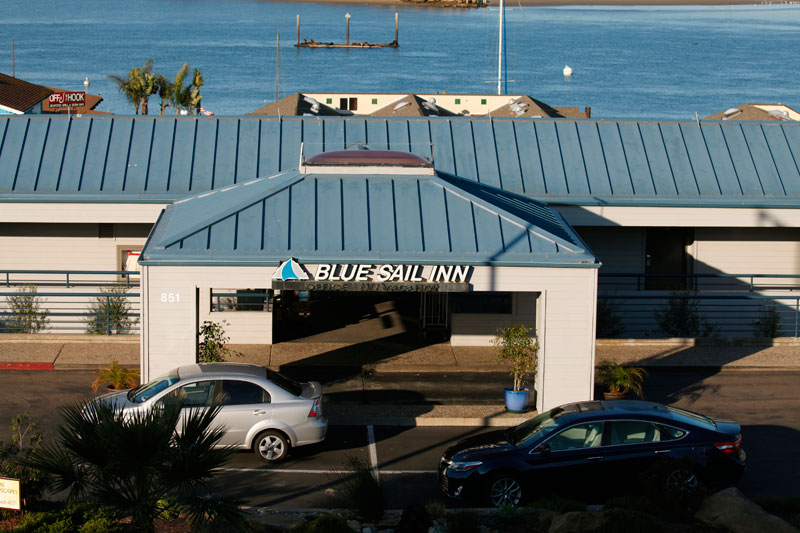 Blue Sail Entrance