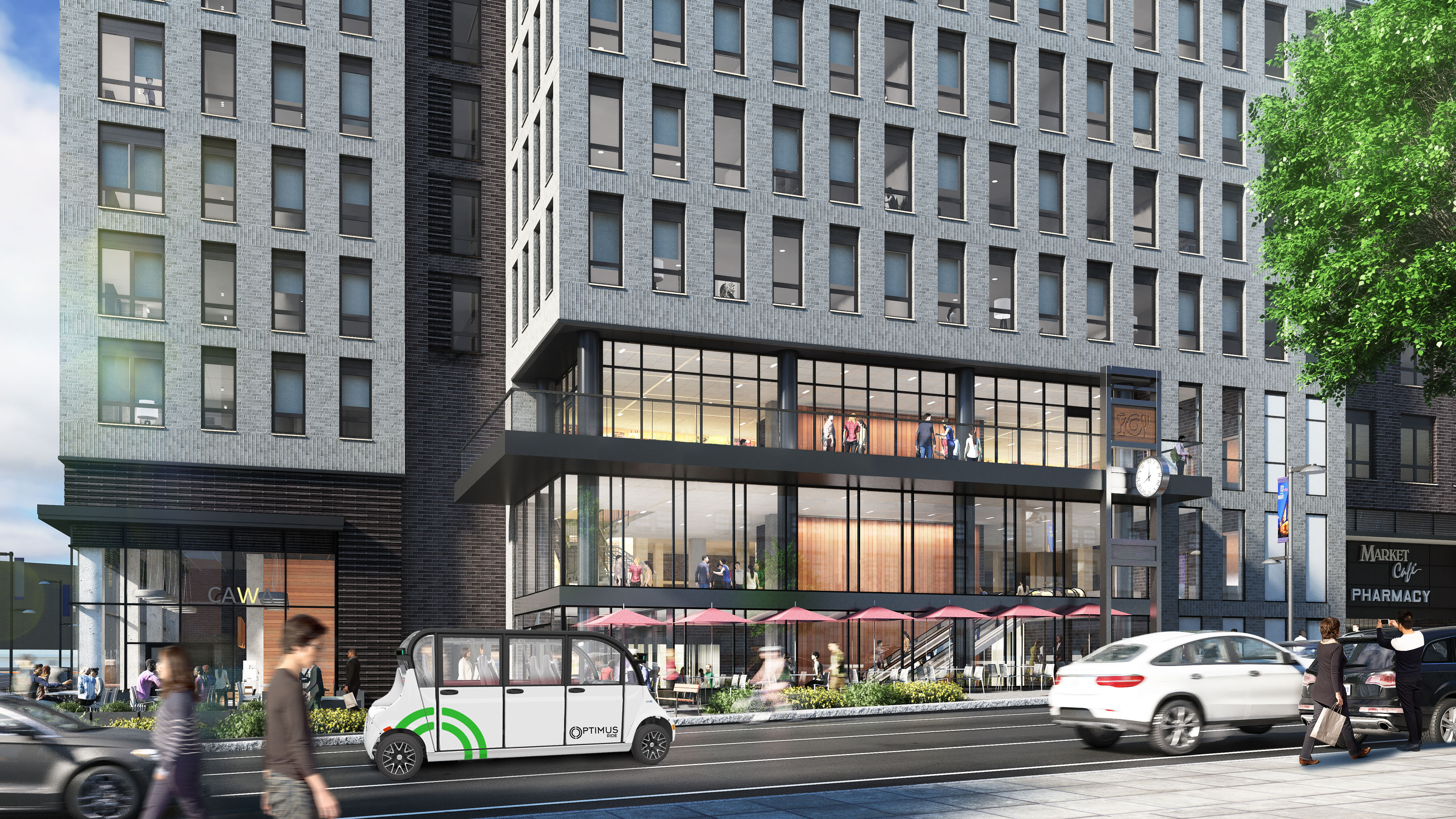 Optimus Ride Announces Strategic Partnership with Brookfield Properties
