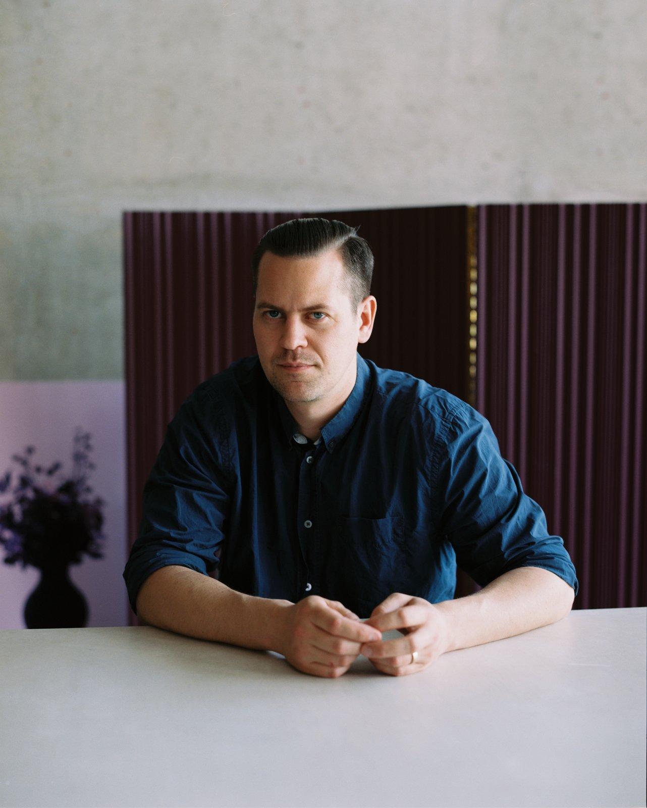 Andreas Bozarth Fornell, fondateur du bureau d'architecture Bozarthfornell.