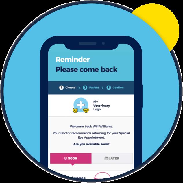 PetYeti product image  – Mobile device displaying PetYeti Easy Recalls