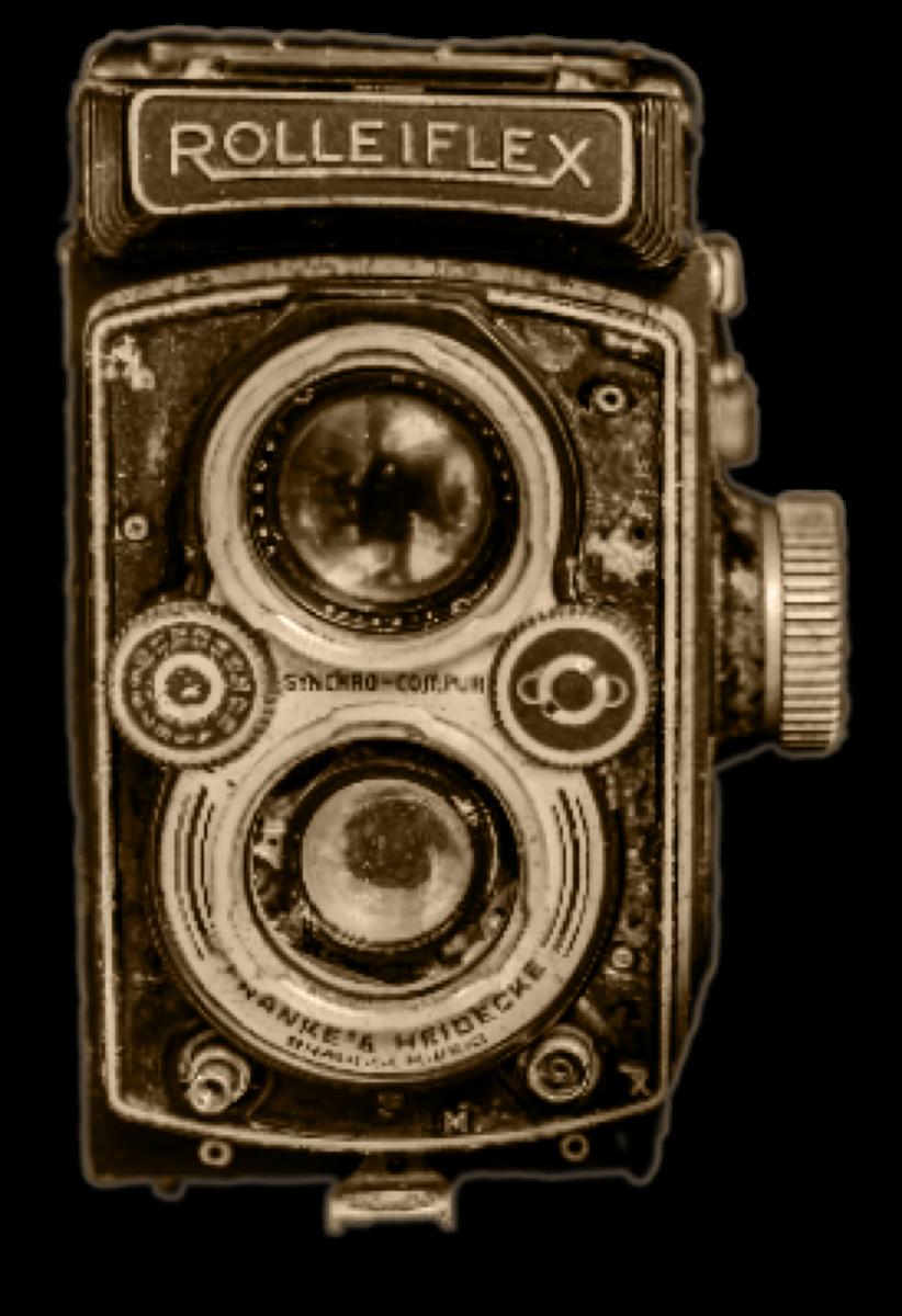 Old Camera Rolleiflex