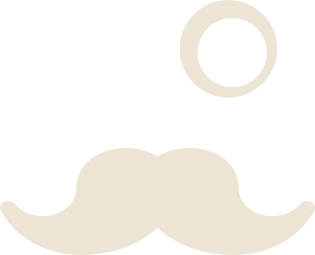 Mustache and Monocle