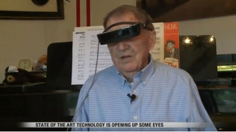 New technology helps the blind to see