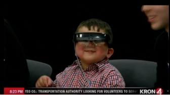 4-Year-Old Boy Sees Clearly For The First Time