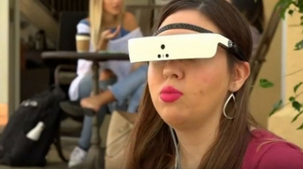 Electronic Glasses Help Woman See 20/20 Again