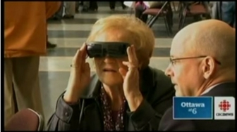 eSight at CNIB Technology Exhibit - CBC News Ottawa