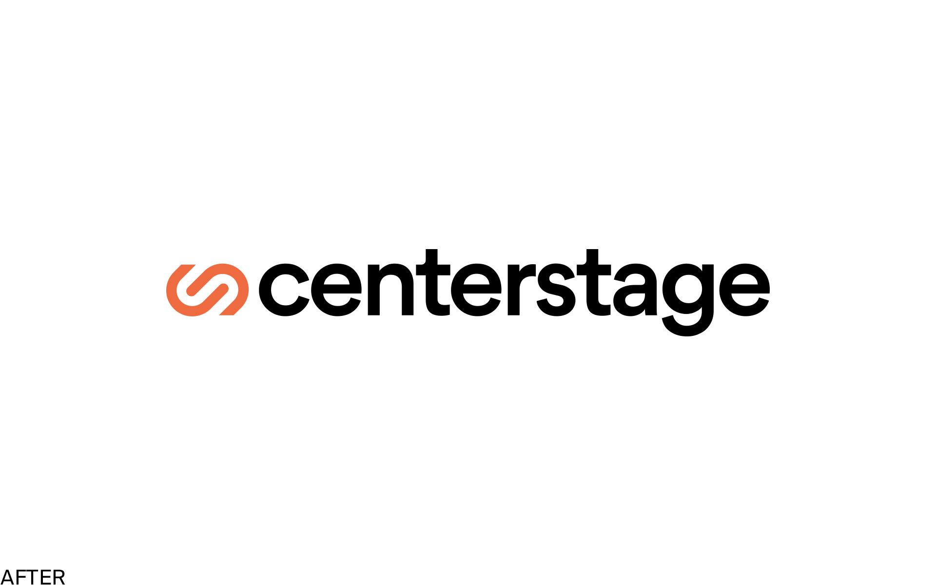 new Centerstage logo