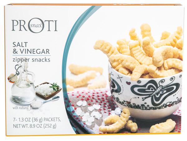 Proti - Salt & Vinegar Zipper Snacks image