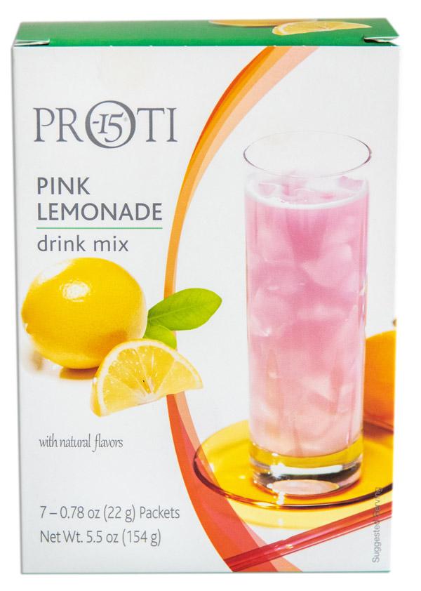 Proti - Pink Lemonade Drink Mix image