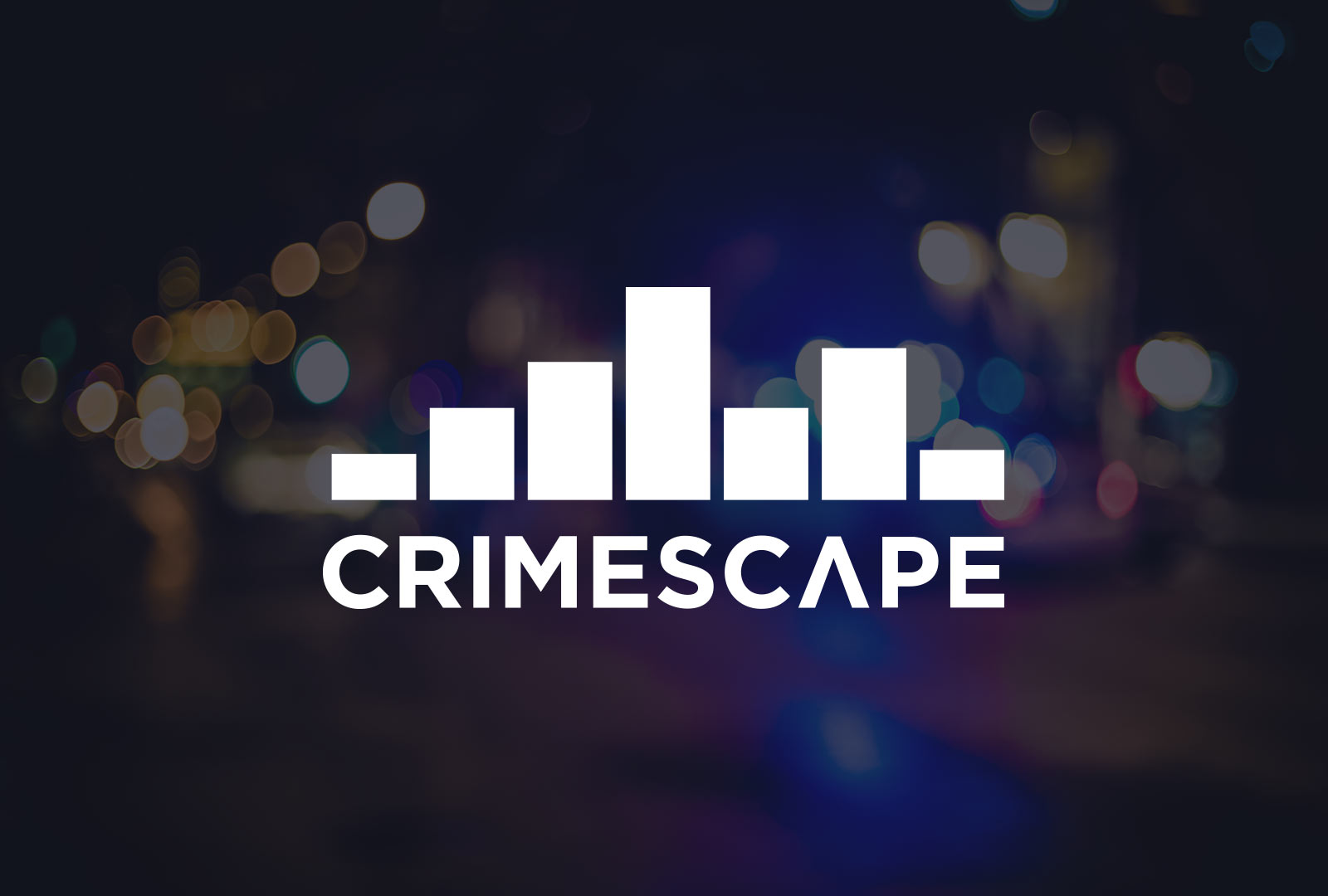 CrimeScape web application digital design for predictive policing startup in chicago