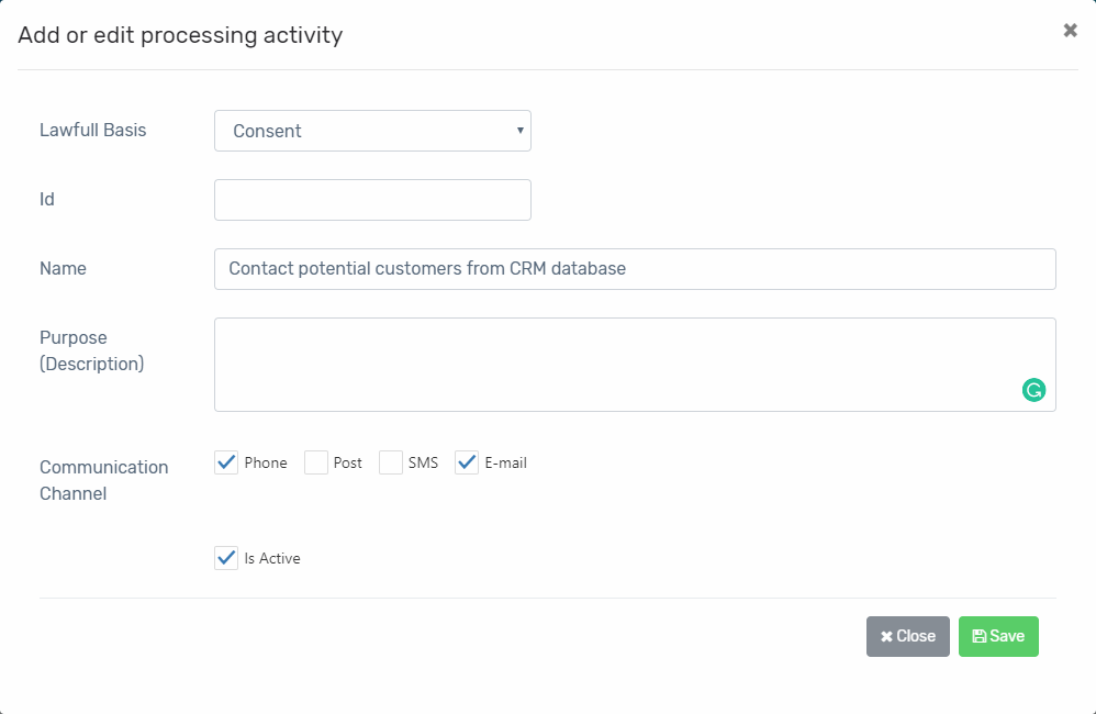 gdpr-processing-activity