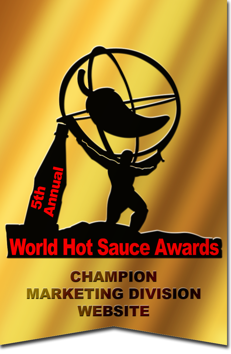 World Hot Sauce Award 2018 Champion Marketing Division Website