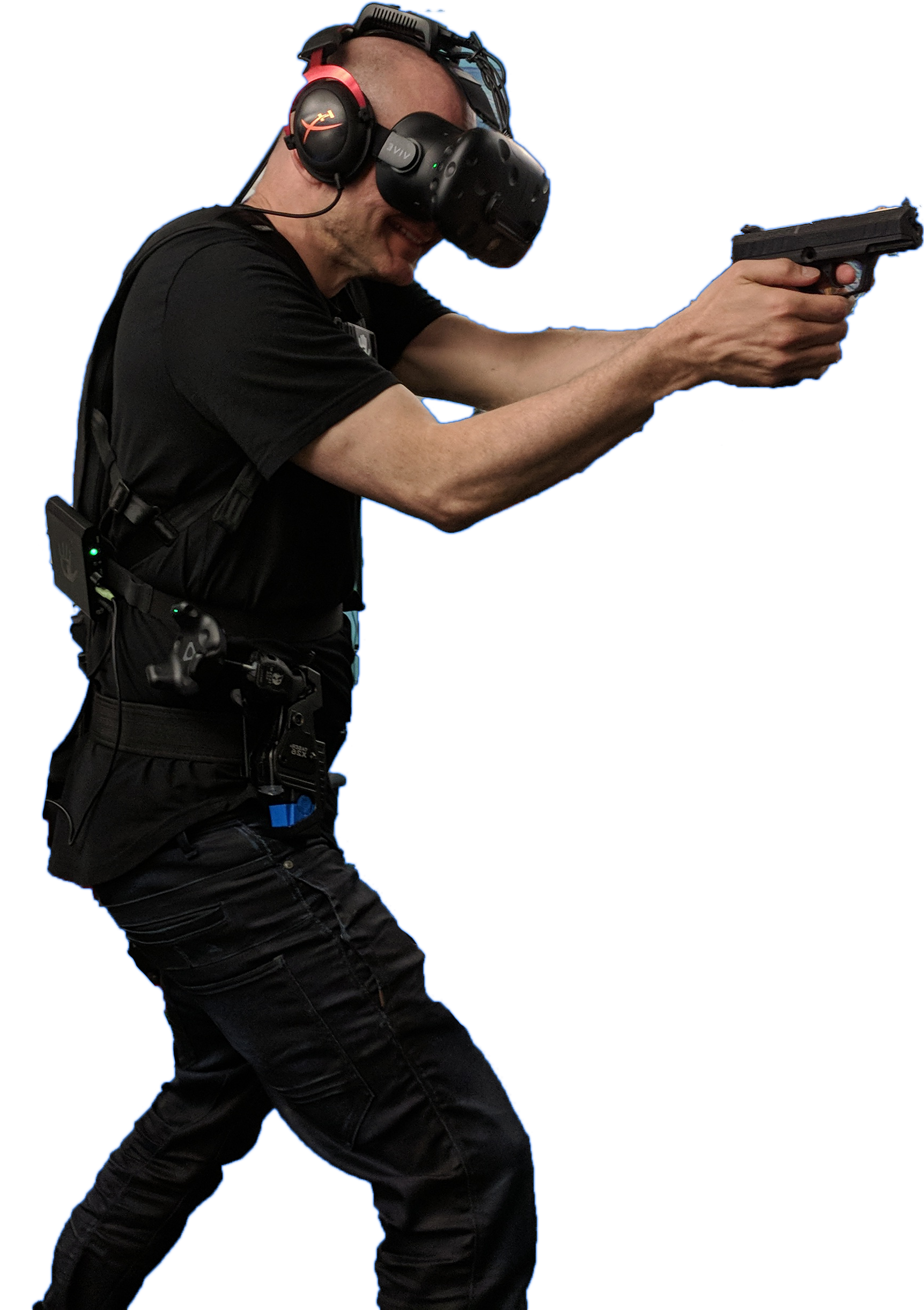Police Officer training in virtual reality