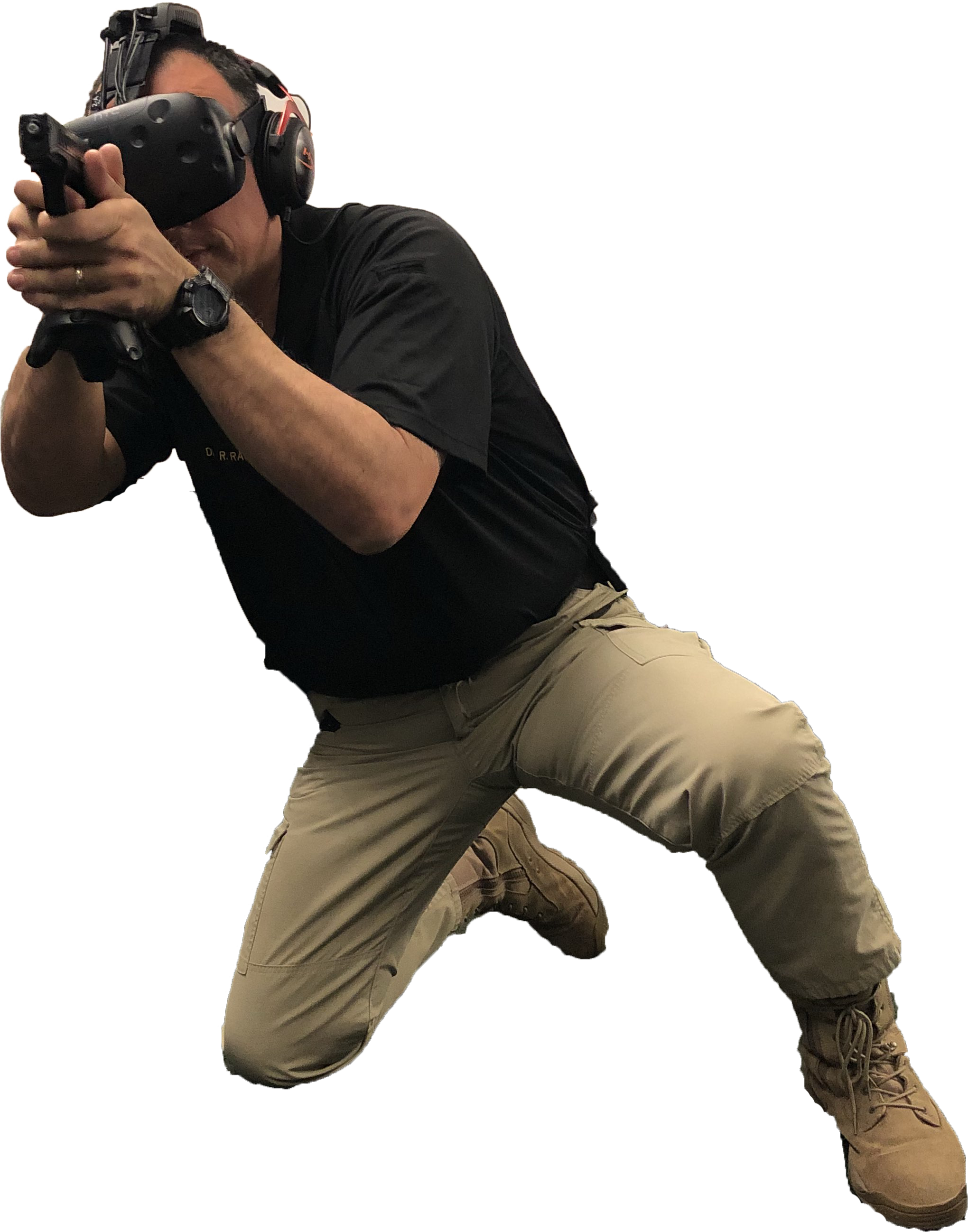 Sheriff training in virtual reality
