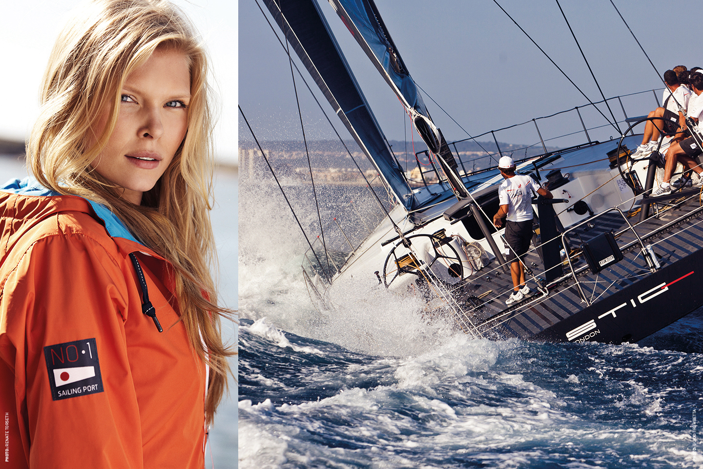 Helly Hansen sailing image and clothes