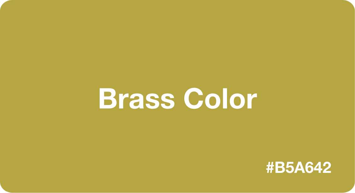 Brass Color