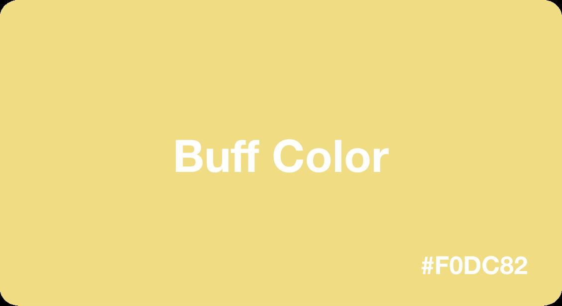 Buff Color