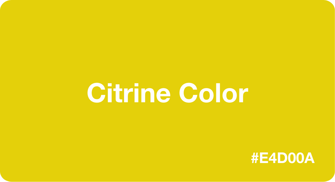 Citrine Color