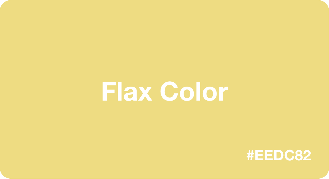 Flax Color