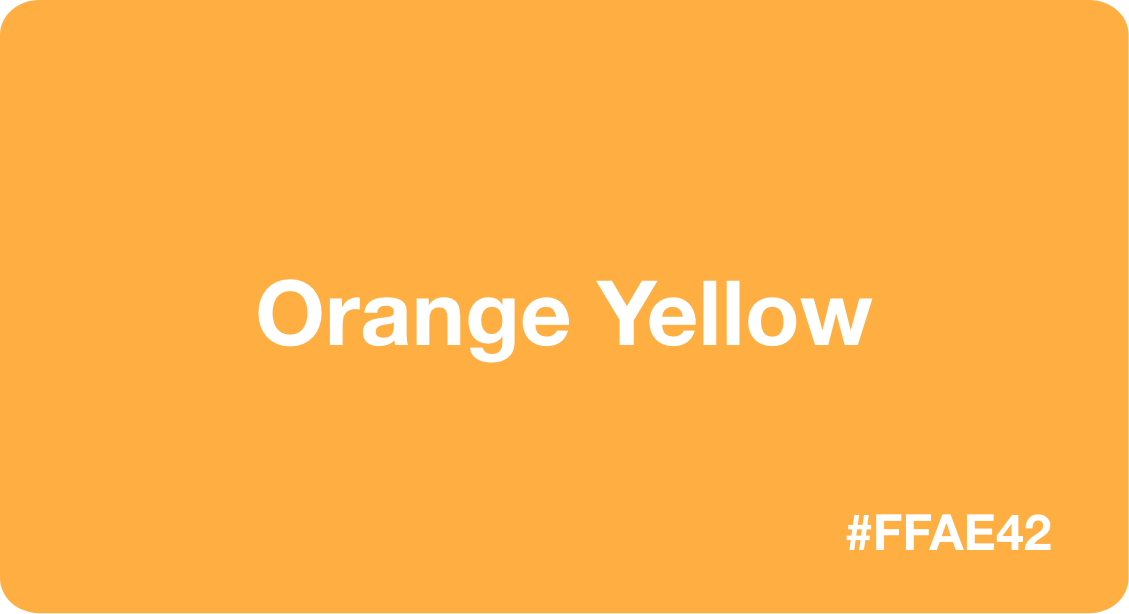 Orange Yellow