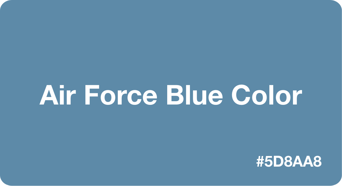 Air Force Blue Color