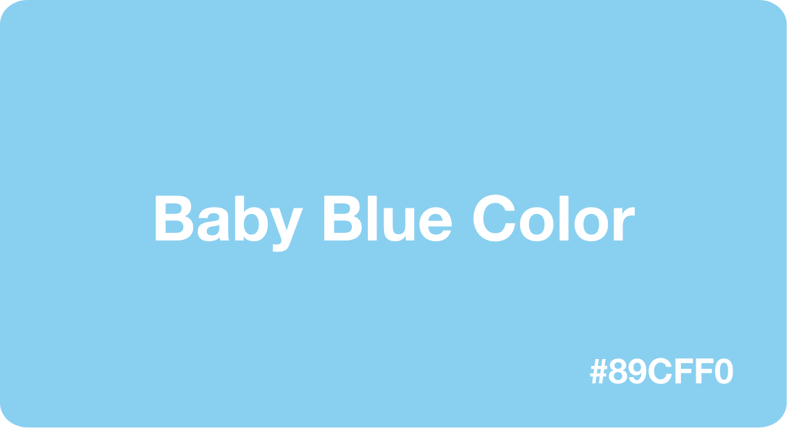 Baby Blue Color